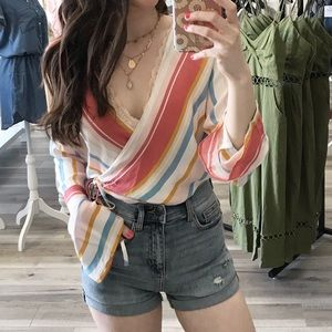 DISCOUNTED Hannah Bell Sleeve Top
